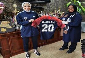 کاپیتان تیم ملی فوتسال بانوان به الفتات کویت پیوست