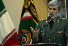 وزیر دفاع: دشمن با سرافکندگی گزینه نظامی را زیر میز برد/هیچ ترور و کار احمقانهای بیپاسخ نمیماند