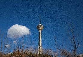 غلظت آلایندههای هوای تهران بیشتر شد
