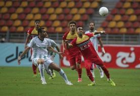 دیدار تیمهای فوتبال فولاد خوزستان و آلومینیوم اراک