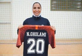 کاپیتان تیم ملی فوتسال زنان: دوست داشتم لژیونر شوم/ فقط خدا همراهم بود