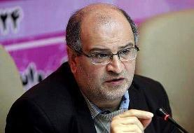 زالی: وضعیت کرونا در تهران خطرناک میشود | اعمال محدودیتهای جدید