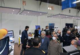 نمایشگاه دستاوردهای تحقیقاتی و صنعتی نیروی دریایی ارتش افتتاح شد