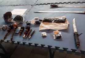 دستگیری ۹۸ قاچاقچی در اسلامشهر