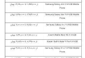 قیمت گوشیهای پرطرفدار بازار/ آیفون ۷پلاس ۱۵.۵ میلیون تومان