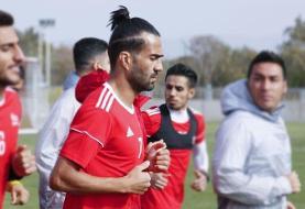 کاپیتان سابق تیم ملی مشکوک به کرونا است