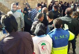 خارج کردن ۲ جسد تاکنون از زیر آوار خانه منفجر شده در خرم آباد