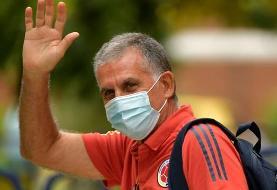 کیروش از سمت مربیگری تیم ملی کلمبیا برکنار شد