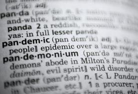 «همهگیری» کلمه سال ۲ دیکشنری شد