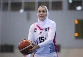 کرونا؛ علت حضور بسکتبالیست زن روس در لیگ زنان ایران!