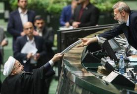 متفاوتترین تصویر در تحویل بودجه ۱۴۰۰ | تصاویر تقدیم لایحه بودجه؛ از دولت خاتمی تا دولت روحانی