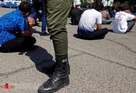 دستگیری اراذل و اوباش شهر ری