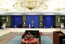 روحانی به منتقدان: هول نشوید، عجله نکنید،خدمات دولت تقدیم به شما