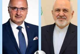 رایزنی وزیران امورخارجه ایران و کرواسی