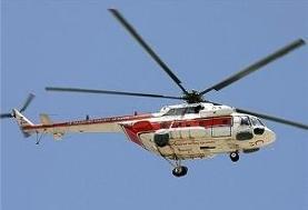 نجات مرد سقوط کرده از کوه با تلاش امدادگران هوایی