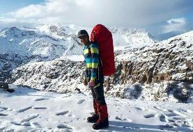 تصویر | پیکر کوهنورد مفقود دماوند پیدا شد