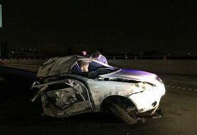 انحراف خودرو در بابلسر پنج نفر را به کشتن داد