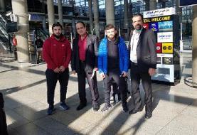 آزادکاران گرجستانی وارد ایران شدند