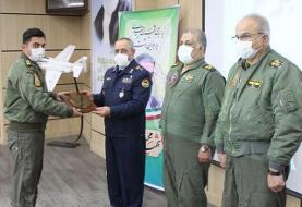 برگزاری مراسم فارغ التحصیلی دانشجویان خلبانی هواپیمای اف ۴