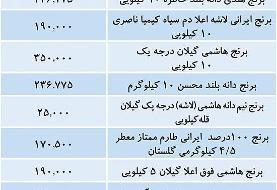 قیمت انواع برنج در بازار امروز ۱۶ آذر ۹۹
