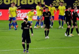 یک شکست دیگر برای بارسلونا در لالیگا