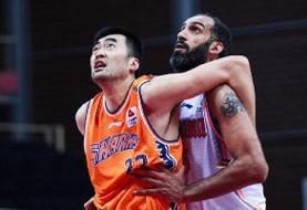 شکست حامد حدادی و هم تیمیهایش در لیگ بسکتبال چین