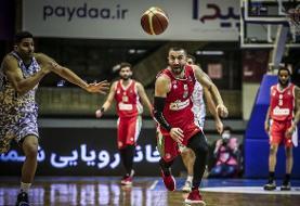 ثبت اولین شکست برای مهرام در لیگ برتر بسکتبال