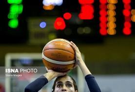پیروزی نفت آبادان در دیدار مدعیان لیگ بسکتبال زنان