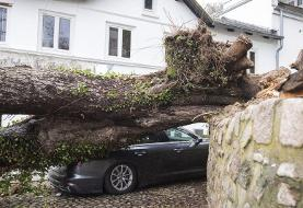 Fierce storm causes deaths, damage and delays across Europe