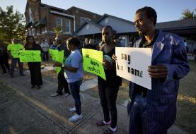Democratic candidates silent on police shootings of black men