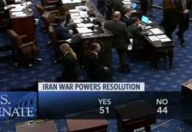 سنای آمریکا طرح کاهش اختیارات جنگی ترامپ علیه ایران را تصویب کرد