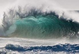 دریای خزر امروز مواج است