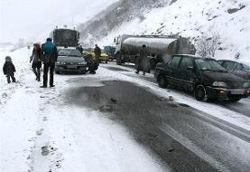 کولاک در اکثر جاده های آذربایجان شرقی و اردبیل