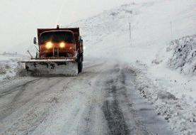 تداوم بارش برف و کولاک در برخی جادههای کشور