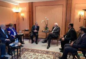 دیدار ظریف با ریش سفیدان سازمان ملل در حاشیه کنفرانس مونیخ