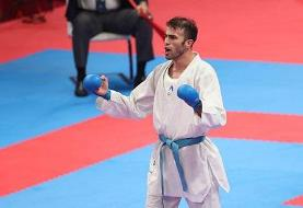 عسگری نخستین المپین کاراته ایران