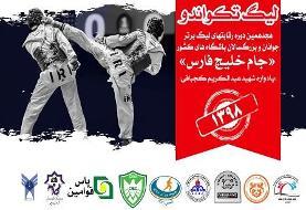برگزاری هفته ششم و هفتم لیگ برتر تکواندو در روز دوشنبه