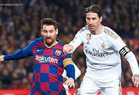 رئال مادرید و بارسلونا به دنبال برگزاری بازی دوستانه