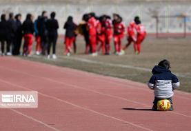 لیگ برتر فوتبال بانوان در سنندج/تصاویر