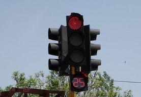 خاموشی چراغهای راهنمایی و رانندگی برخی معابر تهران به دلیل قطع برق دکل فشار قوی
