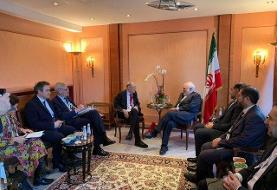 دیدار اعضای شورای روابط خارجی اتحادیه اروپا با ظریف