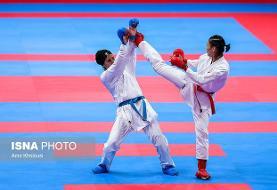 صعود شیما آل سعدی و پورشیب به فینال کاراته وان دوبی