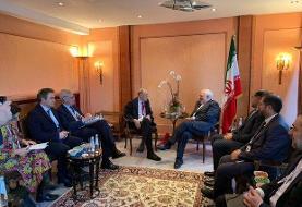 اعضای شورایروابط خارجیاتحادیه اروپا با ظریف دیدار کردند