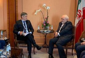 دیدار وزرای خارجه ایران و اوکراین با محوریت هواپیمای سانحه دیده