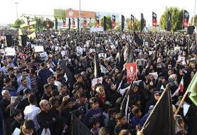 مردم بندرعباس در سوگ چهلمین روز شهادت سردار انقلاب