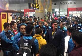 تیم ملی کشتی فرنگی بامداد امروز وارد هند شد