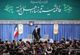 شعری که در محضر رهبر انقلاب برای شهید سلیمانی و ابومهدی خوانده شد