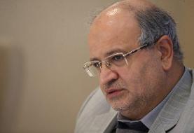 فرماندهی مدیریت کرونا در تهران به زالی محول شد