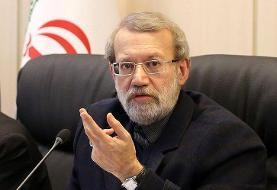 لاریجانی: تهران از مبارزه سوریه علیه تروریستها حمایت میکند