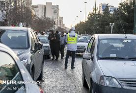حجم بار ترافیک صبحگاهی در غرب به شرق معابر پایتخت